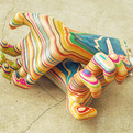 Sculptures-made-from-recycled-skateboards-s