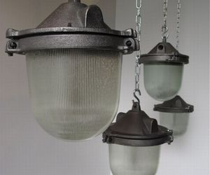 Czech Factory Cast-Iron Pendants