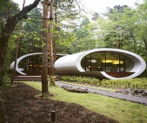 Shell Villa in Nagano, Japan by ARTechnic Architects