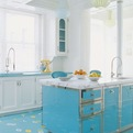 Shiny-blue-kitchen-s