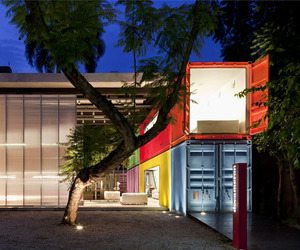 Shipping Container Architecture, Decameron by Studio MK27
