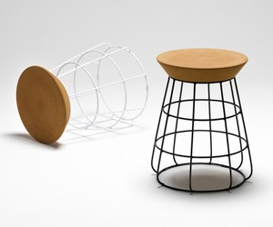 Sidekick Stool by Timothy John for Thanks