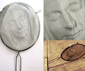 Sieve Portraits Cast Beautiful Shadows