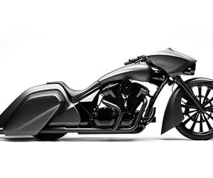 Slammer-bagger-custom-honda-vt1300-m