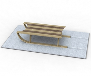 Sled-coffee-table-and-snow-white-rug-m