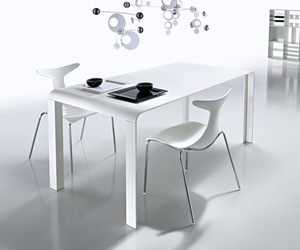 Slim Futuristic Dining Table