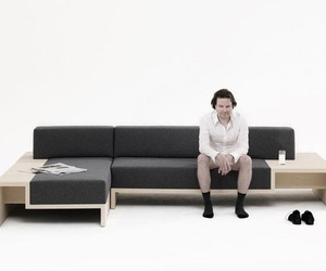 Slow Sofa by Frederik Roijé