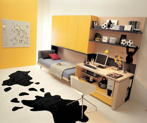 Small Space Teen Bedroom Design | materialicious