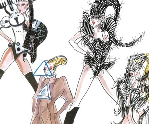 Sneak Peek: New Armani Designs For Lady Gaga
