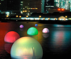 Solar Decoration Floating Ball Light