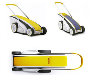 Solar Lawn Mower by Studio Volpi