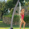 Solar-powered-garden-water-shower-s