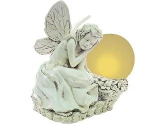 Solar-powered-lighted-resin-statue-from-echo-valley-m
