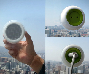 Solar-powered-window-socket-m