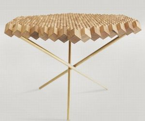 Solid Wood Geometric Furniture
