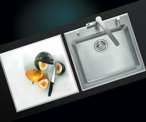 Solidart-sink-with-cutting-surface-m