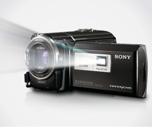 Sony-hd-camera-with-projector-m