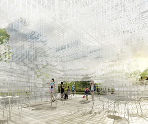 Sou Fujimoto designs the 2013 Serpentine Gallery Pavilion