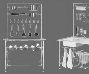 Space-Efficient Magdalena Gravity Frame Kitchen