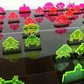 Space-invader-chess-set-laser-cut-from-acrylic-s