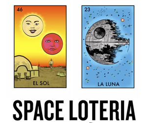 Space Loteria (Star Wars Bingo)