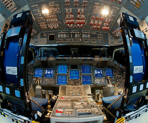 Space Shuttle Endeavour's Flight Deck/Cockpit