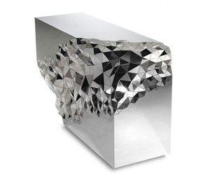 Stellar Console Table Reveals a Sparkling Identity