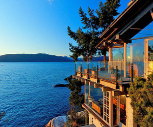 Spectacular Lakefront Dwelling in Vancouver by Paul Merrick