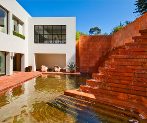 Spectacular Luis Barragán Fountain Home Remodel