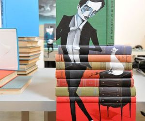 Spectacular-painting-on-books-by-mike-stilkey-m