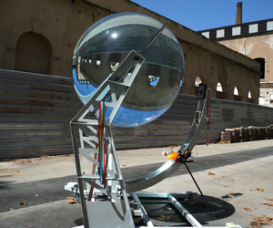 Spherical-glass-solar-energy-generator-m