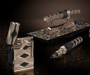 St-dupont-luxury-samurai-pen-and-lighter-set-m