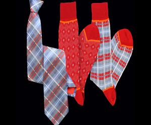 Stanley-lewis-oconnor-denim-red-tartan-tie-and-socks-m