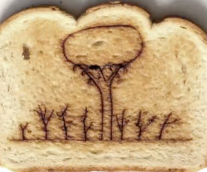 Stop-motion-laser-burnt-toast-music-video-m