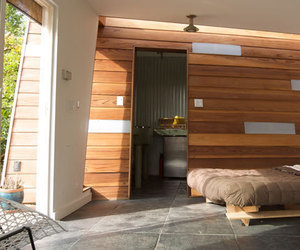 Storage Shed Turned Guest House