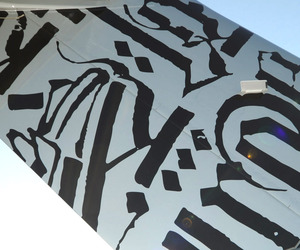 Street-artist-retna-paints-a-60-million-jet-m