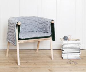 Strik armchair by Kristina Kjr