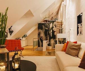 Stunning Contemporary Split-Level Loft in Stockholm
