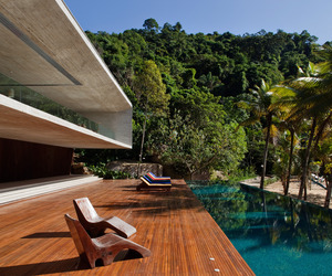 Stunning Island Home in Brazil by StudioMK27