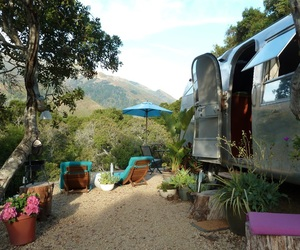 Stylish Airstream Safari by Big Sur Getaway