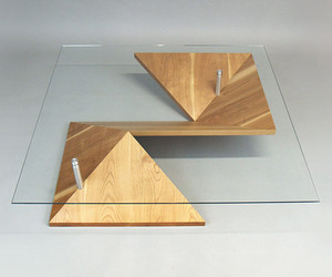 Stylish and Customizable: Origami Coffee Table