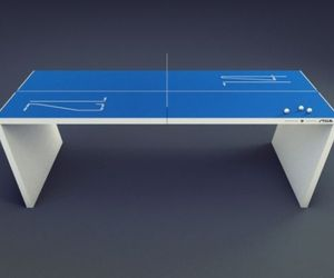 Table Tennis Table Goes Hi Tech