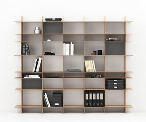 TACT shelving unit by Ernst&amp;Jensen