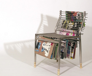 Magazine Rack Chair by Seung Han Lee