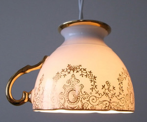 Tea Cup Light by Productive Mind