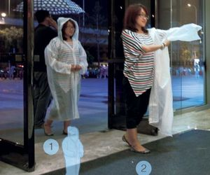 Telescopic Rain Coat