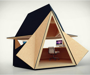 Tetra Shed | Garden Office by David Ajasa-Adekunle