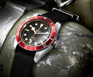 The 2012 Heritage Black Bay by Tudor