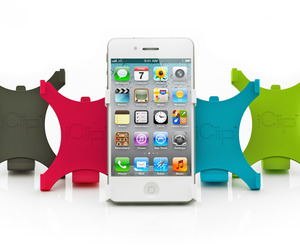 The iClip A New Versatile Way to Hold the iPhone 