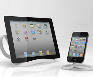 The Infinite Loop Tablet and Phone Stand